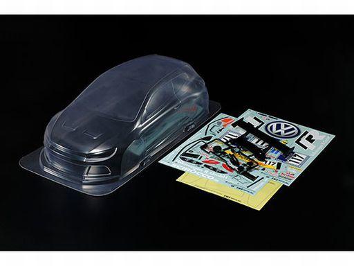 【新品】ラジコン 車(パーツ・アクセサリ) ラジコン用 1/10 フォルクスワーゲン シロッコ GT24-CNG 軽量ボディパーツセット RC特別企画 [47357]