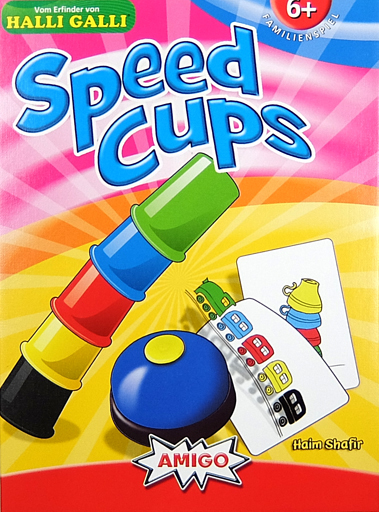 【中古】ボードゲーム スピードカップス 多言語版 (Speed Cups)