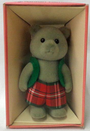 【中古】おもちゃ クマのお兄さん(グレータイプ) 「シルバニアファミリー」