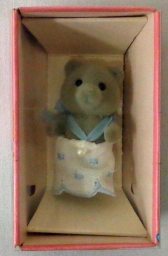 【中古】おもちゃ クマの赤ちゃん(グレータイプ) 「シルバニアファミリー」