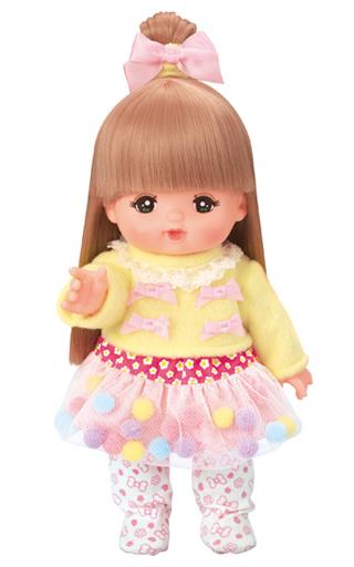 【中古】おもちゃ きせかえセット ふんわりぽんぽんコーデ 「メルちゃん」