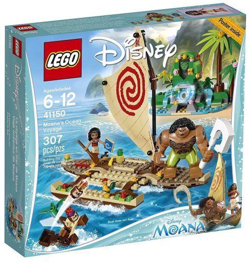 """【中古】おもちゃ LEGO モアナ """"南の海の大冒険"""" 「レゴ ディズニープリンセス」 41150"""