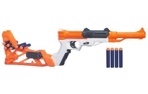 【中古】おもちゃ N-Strike SharpFire Blaster -N-ストライク シャープファイア・ブラスター- 「NERF ナーフ」