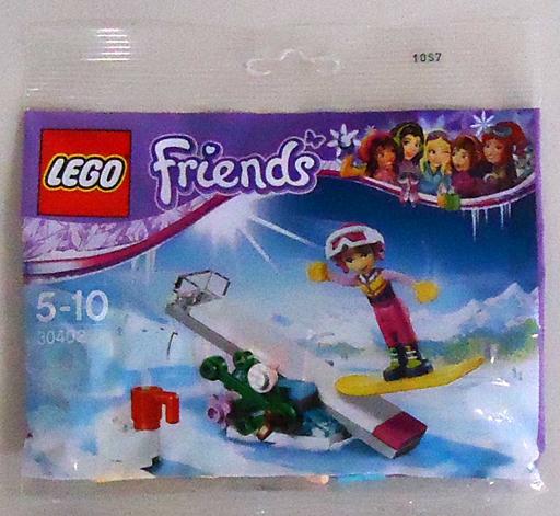 【中古】おもちゃ LEGO スノーボードトリック 「レゴ フレンズ」 30402