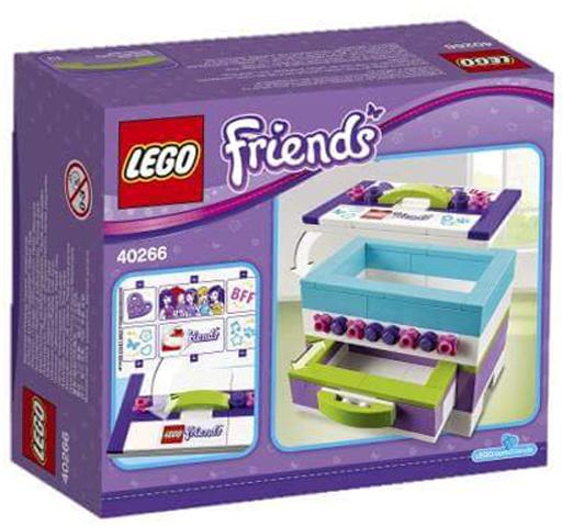 【中古】おもちゃ LEGO ストレージボックス 「レゴ フレンズ」 40266