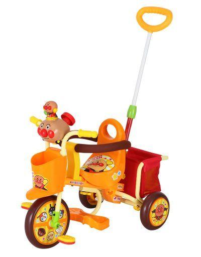 【新品】おもちゃ おでかけ三輪車 それいけ!アンパンマンごうピースII オレンジ 「それいけ!アンパンマン」