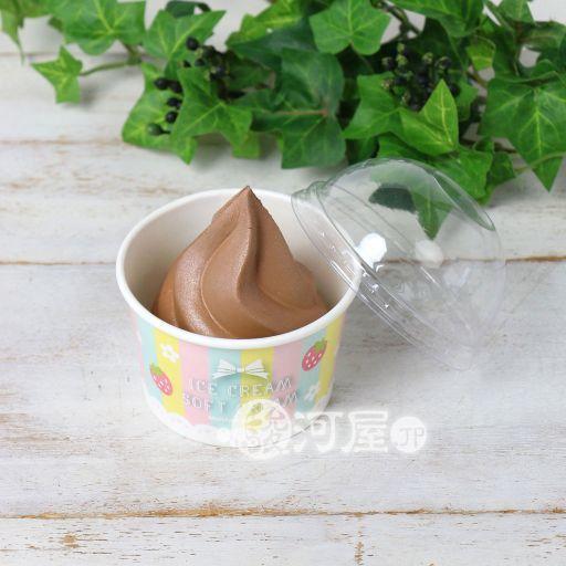 【新品】スクイーズ(食品系/おもちゃ) 野いちご カップソフト チョコ マザーガーデン