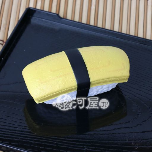 【新品】スクイーズ(食品系/おもちゃ) 野いちご 柔らか寿司 玉子 マザーガーデン