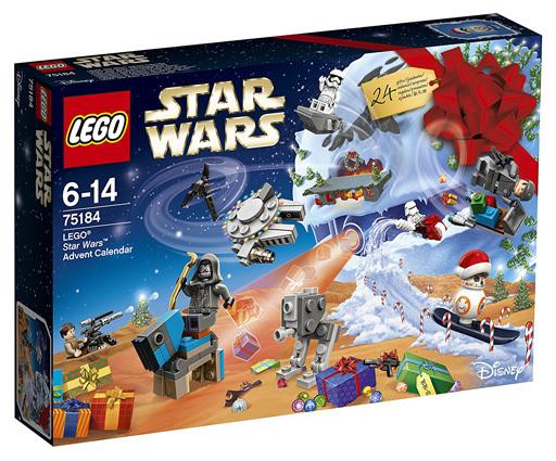 【新品】おもちゃ LEGO アドベントカレンダー 「レゴ スター・ウォーズ」 75184