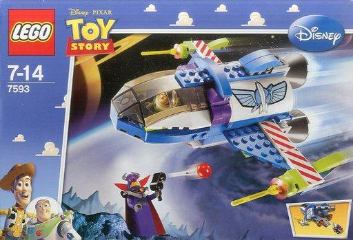 【中古】おもちゃ [ランクB] LEGO バズのスターコマンドスペースシップ 「レゴ トイ・ストーリー」 7593