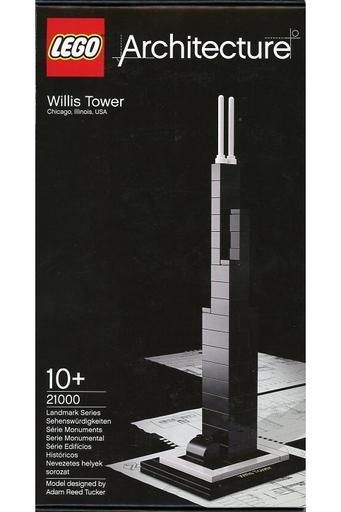 【中古】おもちゃ LEGO シアーズ・タワー(ウィリス・タワー) 「レゴ アーキテクチャー」 21000