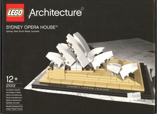 【中古】おもちゃ LEGO シドニー・オペラハウス 「レゴ アーキテクチャー」 21012