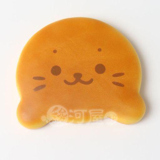 【新品】スクイーズ(食品系/おもちゃ) しろたん 柔らかしろたん型パンケーキ マザーガーデン