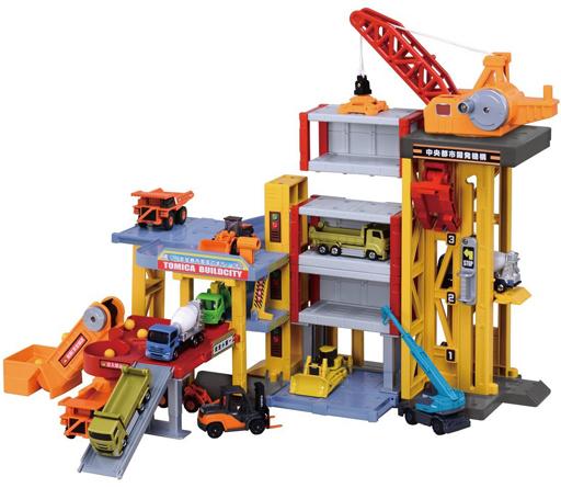 【中古】おもちゃ [ランクB] トミカタウン ビルドシティ パワークレーン建設現場