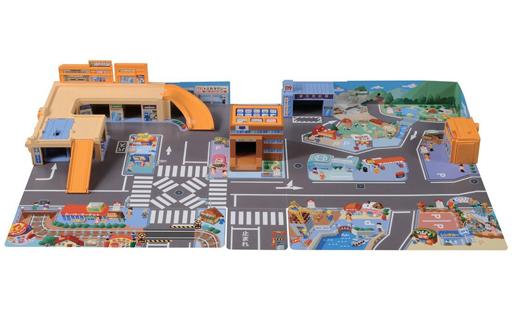 【新品】おもちゃ トミカタウン かんたんおかたづけ!にぎやかサウンドタウン
