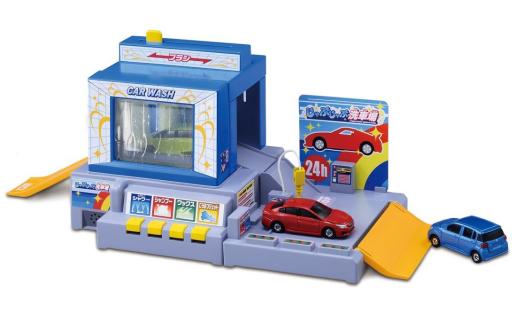 【新品】おもちゃ トミカタウン おしごと体験 水で洗おう!じゃぶじゃぶ洗車場