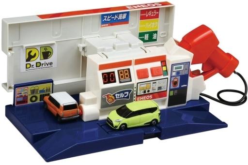 【新品】おもちゃ トミカタウン おしごと体験 サウンドいっぱい!ブルブルガソリンスタンド(ENEOS)