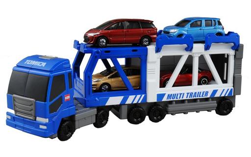 【新品】おもちゃ トミカタウンビルドシティ マルチトレーラー