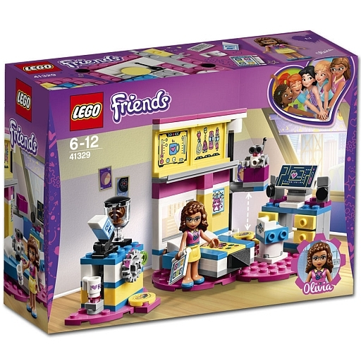 【新品】おもちゃ LEGO オリビアのお部屋 ロボットラボつき 「レゴ フレンズ」 41329