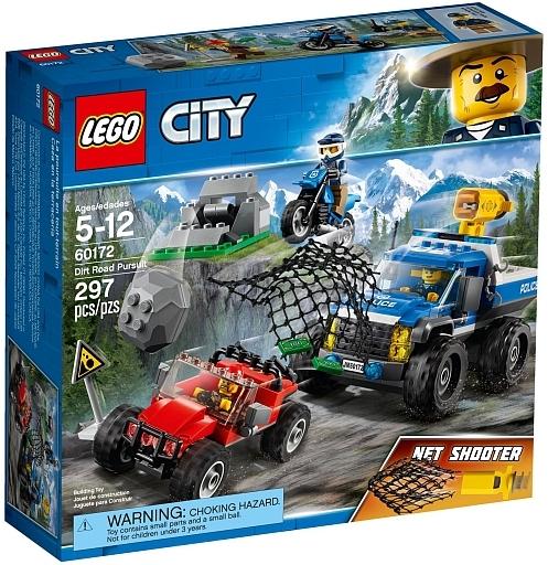 【新品】おもちゃ LEGO 山のポリスカーとポリスバイク 「レゴ シティ」 60172