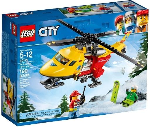 【新品】おもちゃ LEGO 救急ヘリコプター 「レゴ シティ」 60179
