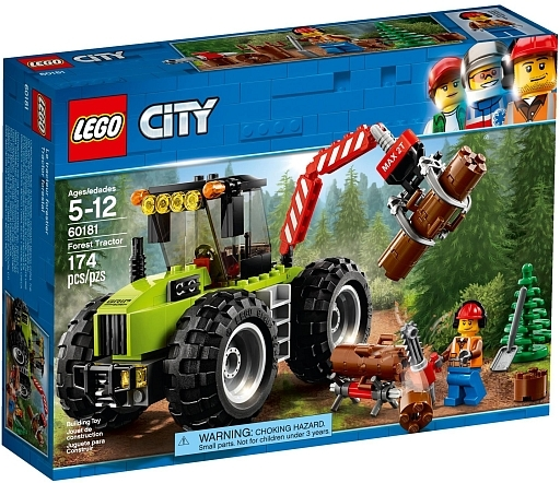 【新品】おもちゃ LEGO 森のパワフルトラクター 「レゴ シティ」 60181