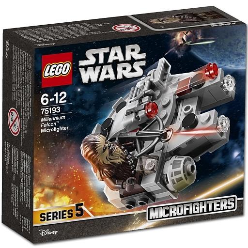 【中古】おもちゃ LEGO ミレニアム・ファルコン マイクロファイター 「レゴ スター・ウォーズ」 75193