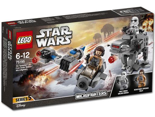 【新品】おもちゃ LEGO スキー・スピーダー vs.ファースト・オーダー・ウォーカー マイクロファイター 「レゴ スター・ウォーズ」 75195