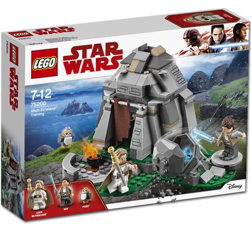 【中古】おもちゃ LEGO アク=トゥー・アイランド・トレーニング 「レゴ スター・ウォーズ」 75200