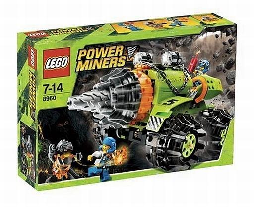 【中古】おもちゃ LEGO サンダー・ドリラー(パワー・マイナーズ5号) 「レゴ パワーマイナーズ」 8960