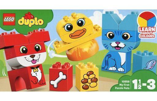 【中古】おもちゃ LEGO はじめてのデュプロ どうぶつパズル 「レゴ デュプロ」 10858