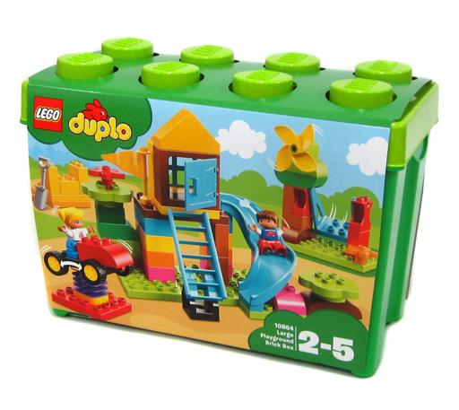 【新品】おもちゃ LEGO みどりのコンテナスーパーデラックス おおきなこうえん 「レゴ デュプロ」 10864