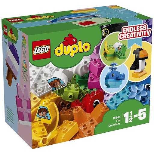 【新品】おもちゃ LEGO デュプロのいろいろアイデアボックス 「レゴ デュプロ」 10865