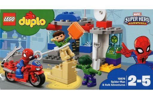 【新品】おもちゃ LEGO スパイダーマンとハルクのぼうけん 「レゴ デュプロ」 10876