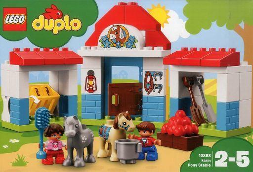 【新品】おもちゃ LEGO ぼくじょうのこうまのおうち 「レゴ デュプロ」 10868