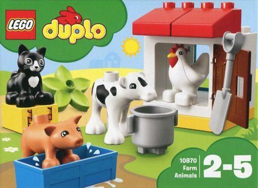 【中古】おもちゃ LEGO ぼくじょうのどうぶつたち 「レゴ デュプロ」 10870