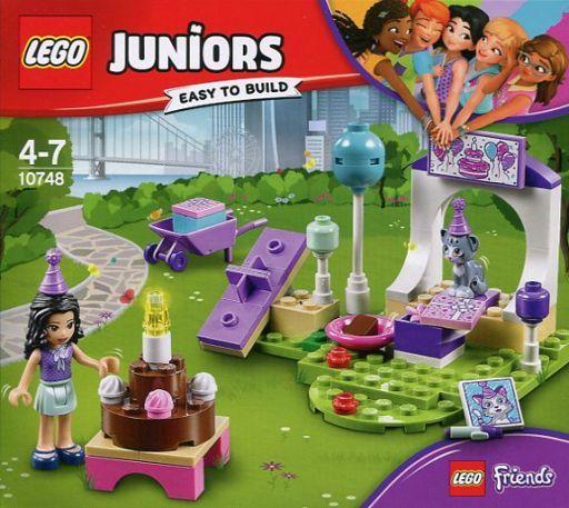 【新品】おもちゃ LEGO フレンズ エマのペットパーティ 「レゴ ジュニア」 10748