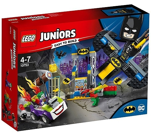 【新品】おもちゃ LEGO ジョーカーのバットケイブ攻撃 「レゴ ジュニア」 10753