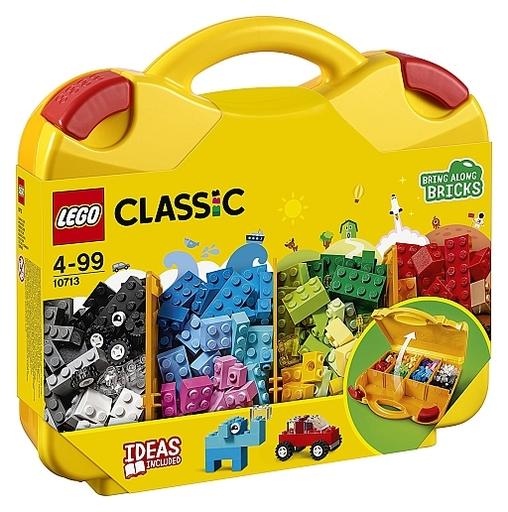 【新品】おもちゃ LEGO アイデアパーツ<収納ケースつき> 「レゴ クラシック」 10713