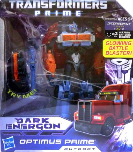 【中古】おもちゃ オプティマスプライム 「トランスフォーマープライム ダークエネルゴン」 ボイジャークラス