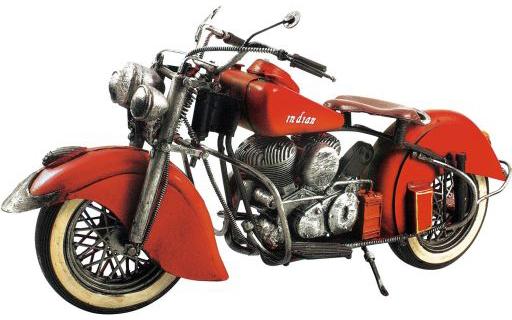 【中古】おもちゃ ブリキのおもちゃ (motocycle crimson)