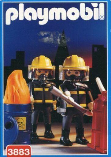 【中古】おもちゃ 消防士 「playmobil プレイモービル」 3883
