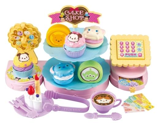 【中古】おもちゃ くるくるスイーツ!にぎやかケーキ屋さん 「ディズニーツムツム」