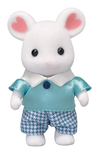 【新品】おもちゃ マシュマロネズミの男の子 「シルバニアファミリー」