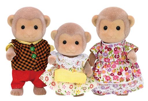 【予約】おもちゃ サルファミリー 「シルバニアファミリー」