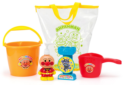 【新品】おもちゃ アンパンマン おふろバケツセット 「それいけ!アンパンマン」