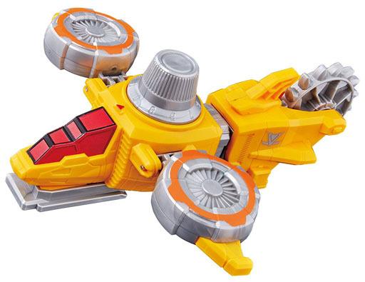 【新品】おもちゃ VSビークルシリーズ DXイエローダイヤルファイター 「快盗戦隊ルパンレンジャーVS警察戦隊パトレンジャー」