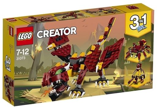 【新品】おもちゃ LEGO 伝説の生き物 「レゴ クリエイター」 31073