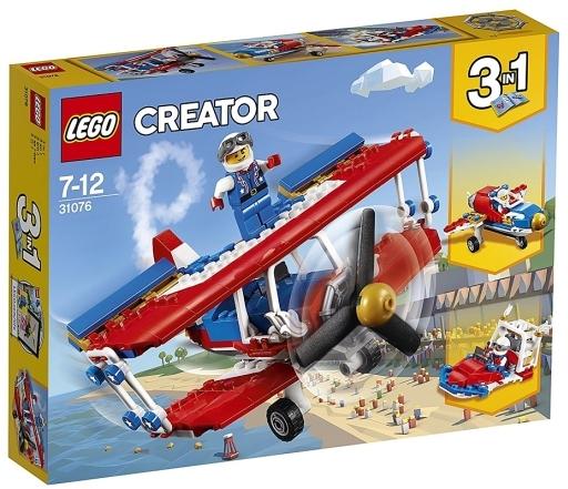 【新品】おもちゃ LEGO スタント飛行機 「レゴ クリエイター」 31076