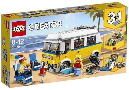 【新品】おもちゃ LEGO サーファーのキャンプワゴン 「レゴ クリエイター」 31079